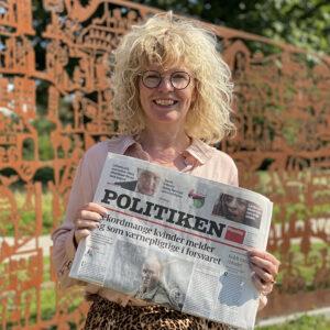 Tina Rosenvinge - Kronik Gentagne graviditetstab Politiken